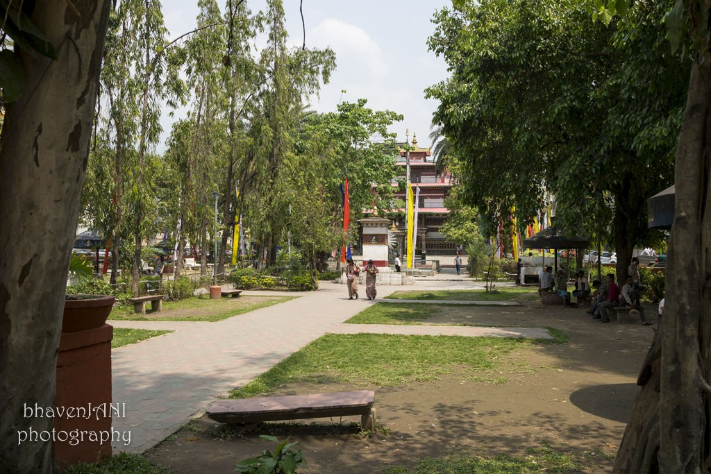The fun of travel, View of a park in Phuentsholing, Bhutan