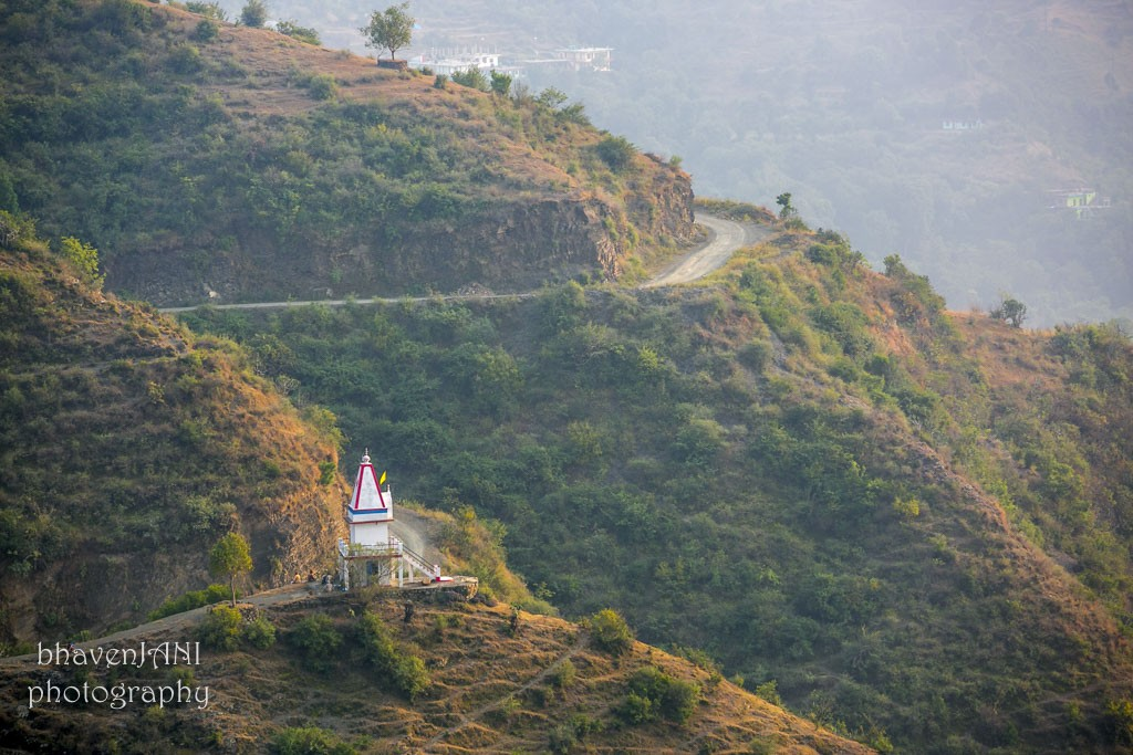 There is no dearth of temples in India, and the hills always have one to climb up to