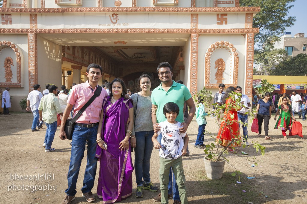 Pandal hopping with Family