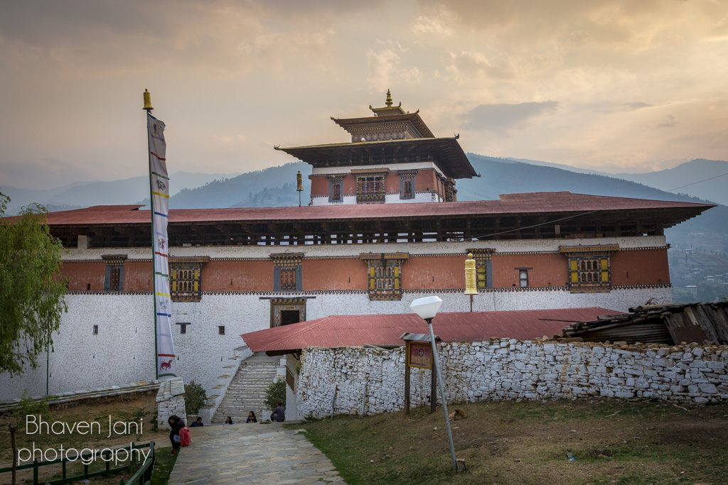 Paro Dzong, a grand stone building, a place of religion and administration