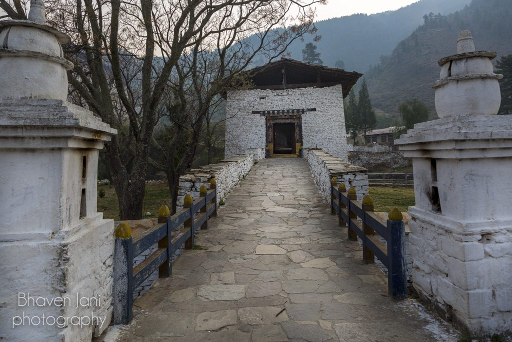 Bhutan musings: Entrance to Paro Dzong