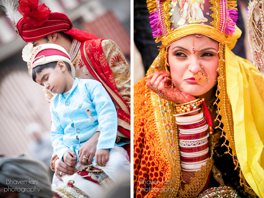 Candid wedding photography by Bhaven Jani