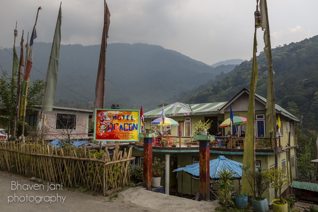 There are several hotels and homestays in Yuksum, Sikkim