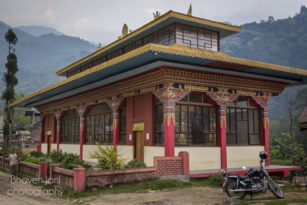 A Buddhist temple in Yuksum, Sikkim